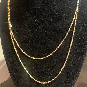 "36"" 14k Gold Chain"